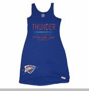 Oklahoma City Thunder Women's Fuji Tank Dress - Navy