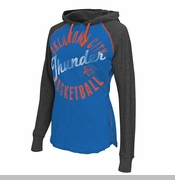Oklahoma City Thunder Women's Play Clock Hoodie - Blue