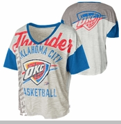 Oklahoma City Thunder Womens Power Play Short Sleeve Tee - Team