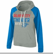 Oklahoma City Thunder Womens West Coast Hoody - Grey