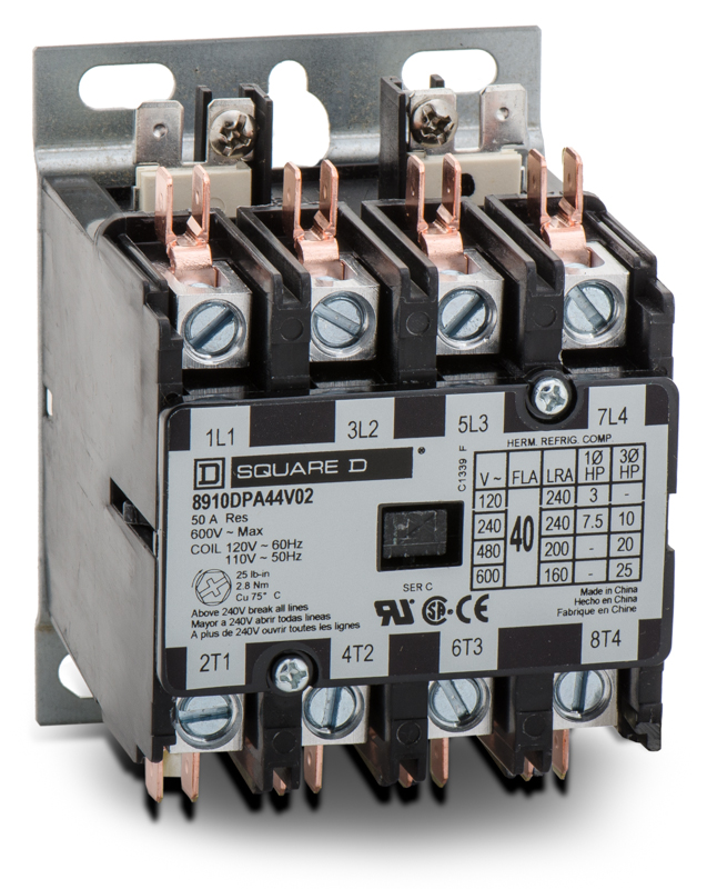 8910DPA44V02 Definite Purpose Contactor | Square D