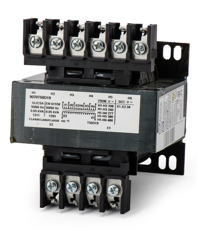 Square d industrial control transformer