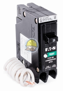 BR115CAF - Cutler-Hammer / Westinghouse Combo Arc Fault Circuit Breaker
