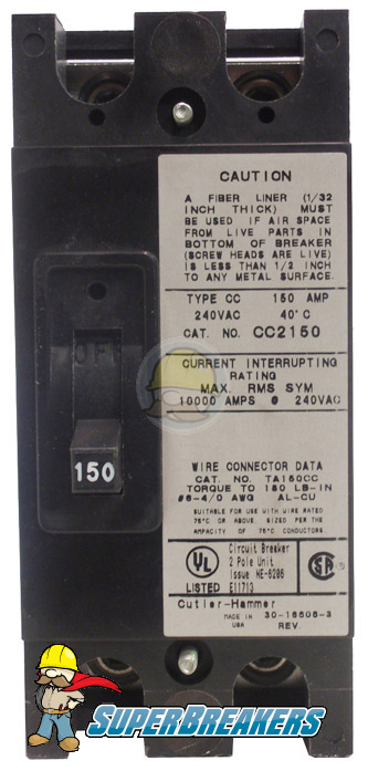 CC2200 Base Mount Circuit Breaker | Cutler-Hammer