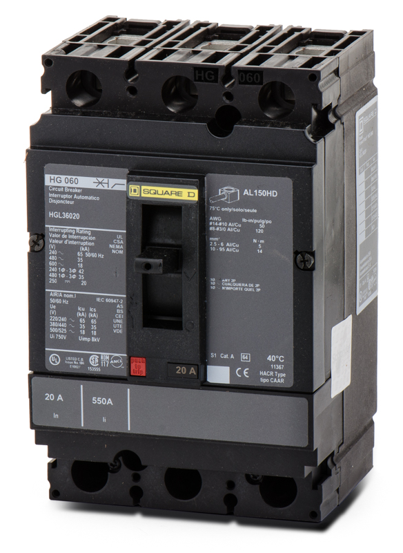 HGL36150 Circuit Breaker | Square D