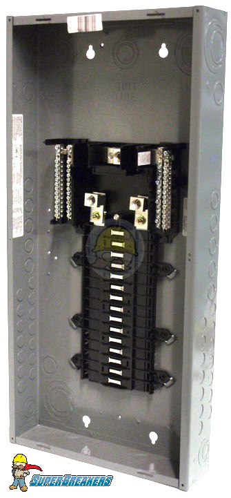 QO13040M200 Single Phase Convertible Load Center | Square D