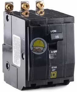 QOB330 - Square D Bolt-On Circuit Breaker