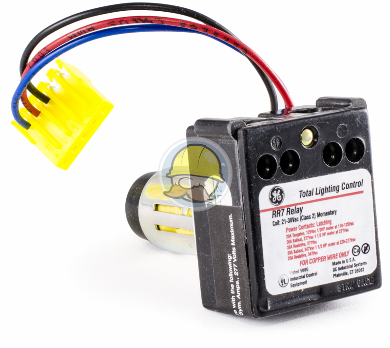 Rr7p Lighting Control Relay General Electric