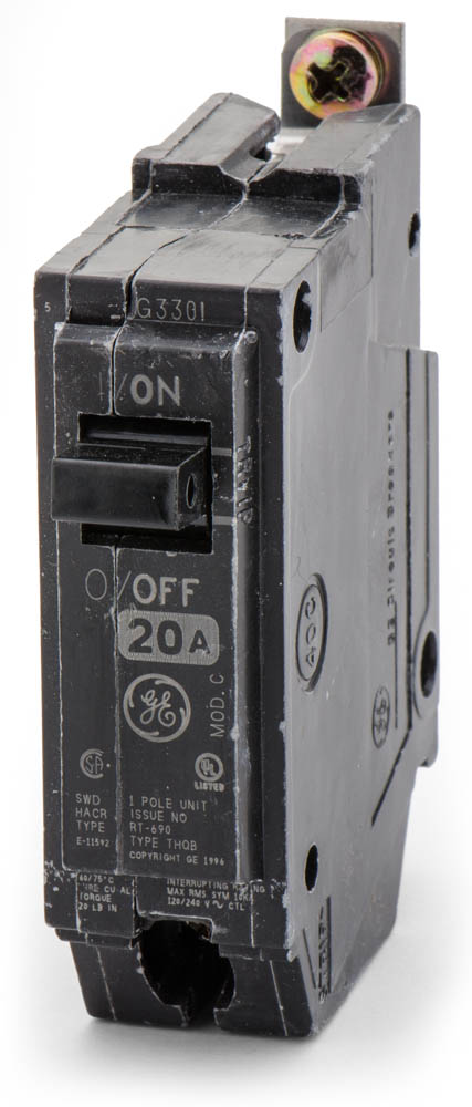 THQB1120 Bolt-On Circuit Breaker | General Electric