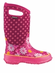 Bogs Boots in Cherry Flower Dot