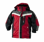 Obermeyer Giant Slalom Jacket: Red/Black/Basalt/White
