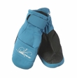 Obermeyer Radiator Mittens: Surf Blue