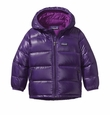 Patagonia HI Loft Down Hooded Jacket in Purple