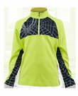 Spyder Racer Turtleneck: Sharp Lime/Black