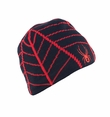 Spyder Web Hat in Black/Volcano