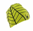 Spyder Web Hat: Black/Sharp Lime