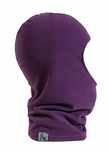 Turtle Fur Micro-Fur Balaclava in Purple