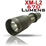 LumaForce LF1 ELITE SERiES TACTICAL FLASHLIGHT - 670 Lumens *1 Mode
