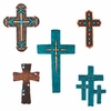 Desert Roadrunner Handmade Crosses