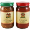 El Rancho De Los Garcias Red and Green Chile Sauces