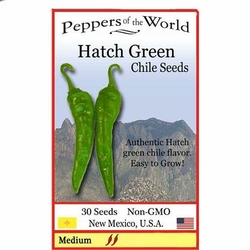 Hatch Green Chile Seeds