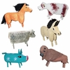 Navajo Farm Animal Ornaments