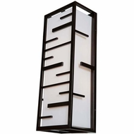Access 20349MG Tao Modern 26  Tall Outdoor Wall Lamp
