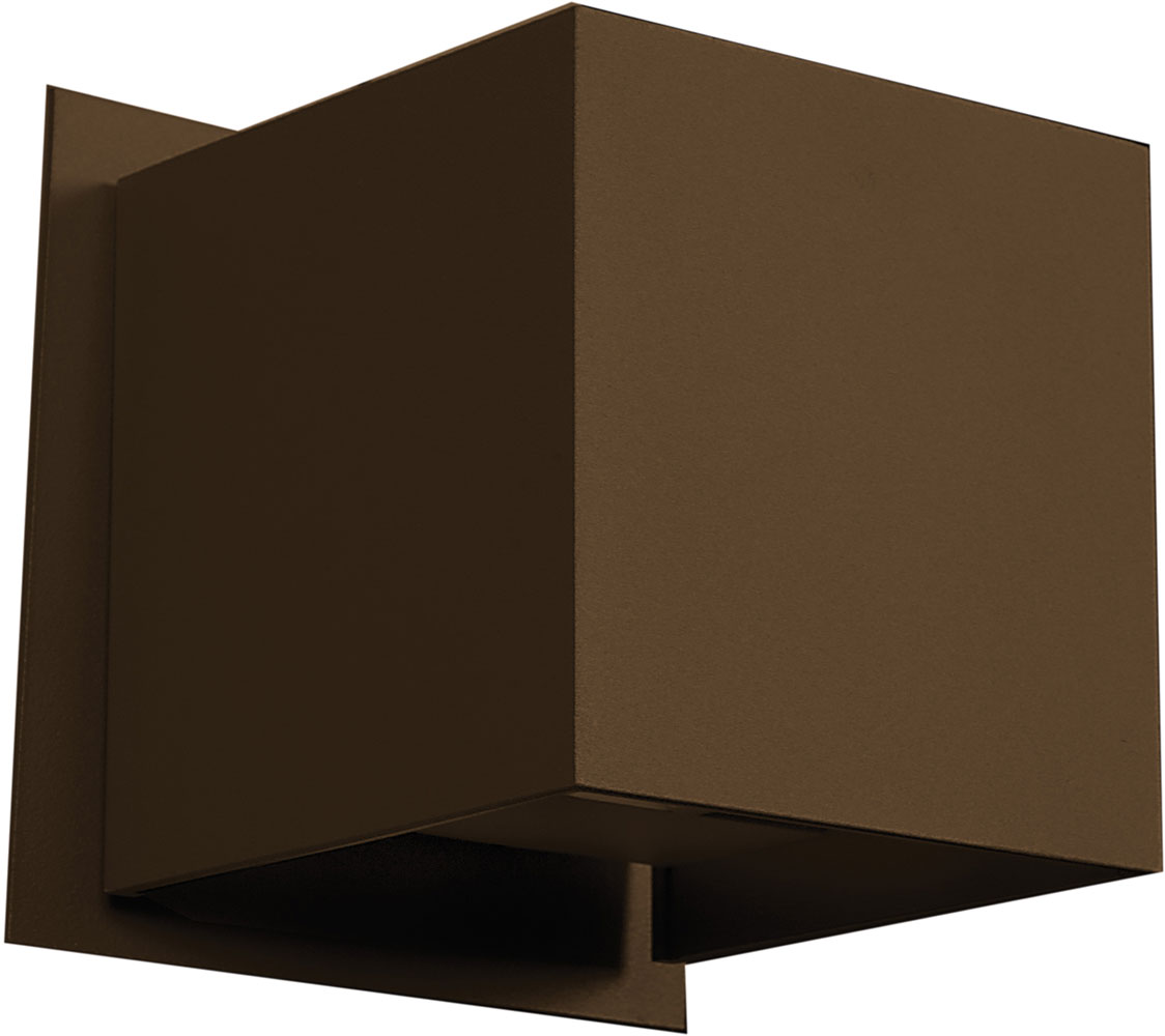 Access 20399LED BRZ Square Modern Bronze Bronze Metal LED Exterior Wall