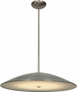 Access 20665-BS-FST Stealth Modern Brushed Steel & Frosted Glass Fluorescent Pendant Light