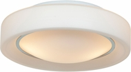 Access 20680LED-CH-OPL Splash Contemporary Chrome & Opal Glass LED Ceiling Lighting