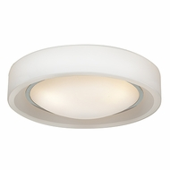 Access 20683LED-CH-OPL Splash Modern Chrome & Opal Glass LED Ceiling Lighting Fixture
