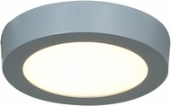 Access 20770LED-SILV-ACR Strike Contemporary Silver & White Acrylic LED Flush Mount Lighting