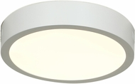 Access 20770LED-WH-ACR Strike Modern White & White Acrylic LED Overhead Lighting
