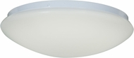 Access 20780LED-WH-ACR Catch Modern White & White Acrylic LED Flush Ceiling Light Fixture