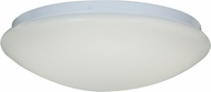 Access 20781LED-WH-ACR Catch Contemporary White & White Acrylic LED Flush Mount Ceiling Light Fixture