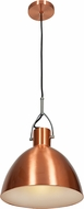 Access 28092-BCP Essence Modern Brushed Copper & Brushed Copper Aluminum Mini Hanging Pendant Lighting