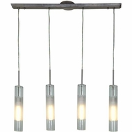 Access 50549-BS-CLOP Dezi Modern Brushed Steel Finish 13.5  Tall Multi Drop Ceiling Lighting