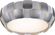 Access 50901LED-WH-CH Layers Modern Chrome & White Acrylic LED Ceiling Light