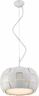 Access 50904-WH-WH Layers Contemporary White & White Acrylic Fluorescent Hanging Lamp