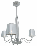 Access 55532 Milano Contemporary 18  Tall Halogen Mini Chandelier Light