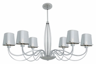 Access 55533 Milano Modern 32.5  Wide Halogen Chandelier Lighting