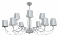 Access 55534 Milano Contemporary 18  Tall Halogen Lighting Chandelier