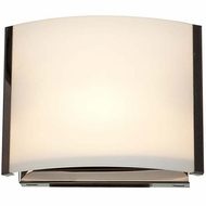 Access 62291-BS-OPL Nitro 2 Contemporary Brushed Steel Finish 6.9  Wide LED Lighting Wall Sconce