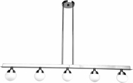 Access 62476LEDD-CH-OPL Classic Contemporary Chrome LED Kitchen Island Lighting