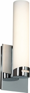 Access 70037LED-CH-OPL Chic Contemporary Chrome & Opal Glass LED Wall Light Fixture