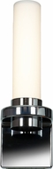 Access 70039LED-CH-OPL Chic Contemporary Chrome & Opal Glass LED Lighting Wall Sconce