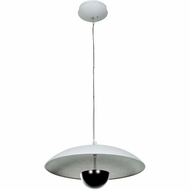 Access 70073LED Pulsar Contemporary 17  Wide LED Flush Mount Lighting Fixture