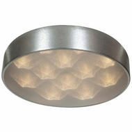 Access 70081LED-BSL-ACR Meteor Modern Brushed Silver Finish 4.5  Tall LED Home Ceiling Lighting