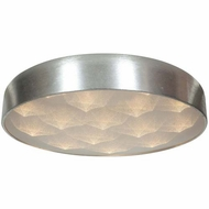 Access 70082LED-BSL-ACR Meteor Contemporary Brushed Silver Finish 23  Wide LED Overhead Light Fixture