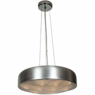 Access 70083LED-BSL-ACR Meteor Modern Brushed Silver Finish 4.5  Tall LED Lighting Pendant